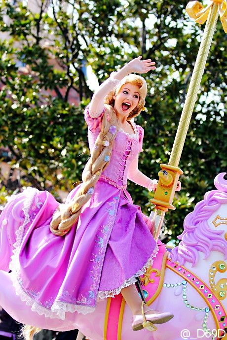 Rapunzel from ″Happiness is Here″ to celebrate 30th Anniversary at Tokyo Disneyland