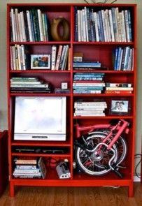 Если дома мало места: складной велосипед