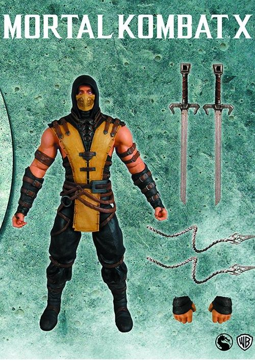 Mortal Kombat X  Series Scorpion Action Figure