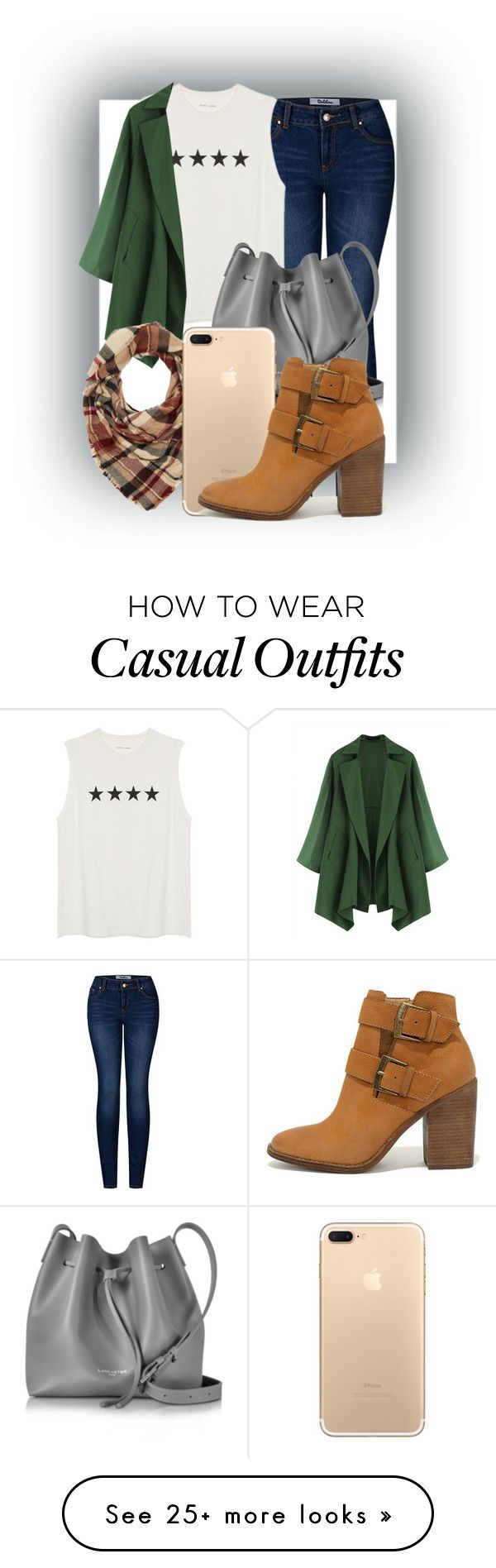 """""""Casual Weekend"""" by alittledramatic on Polyvore featuring 2LUV, Lancaster, Charlotte Russe, Steve Madden, weekendoutfit and weekendessentials"""