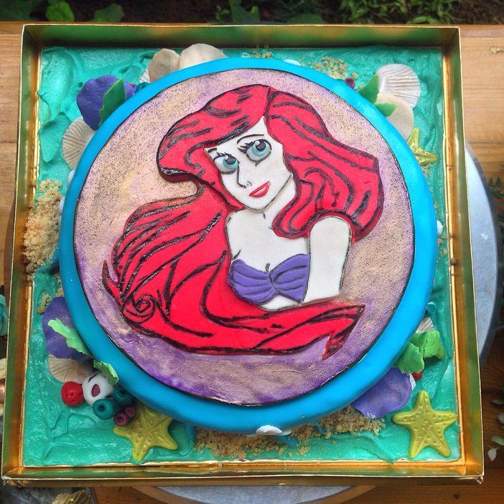 Ariel cake :)