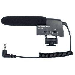 Sennheiser MKE 400 este un microfon de tip shotgun, ce va asigura un sunet de inalta calitate filmarilor dumneavoastra. Este accesoriul ideal pentru cei ce ralizeaza filmari cu DSLR-uri sau camere video dotate cu mufa jack de 3.5 pentru microfon exterior.  Sennheiser MKE 400 se instaleaza cu usurinta pe patina camerei video sau a aparatului foto si se conecteaza jack-ul. Microfonul este suspendat pe o suspensie de cauciuc, prevenind sunetele parazite provenite de la manipularea…