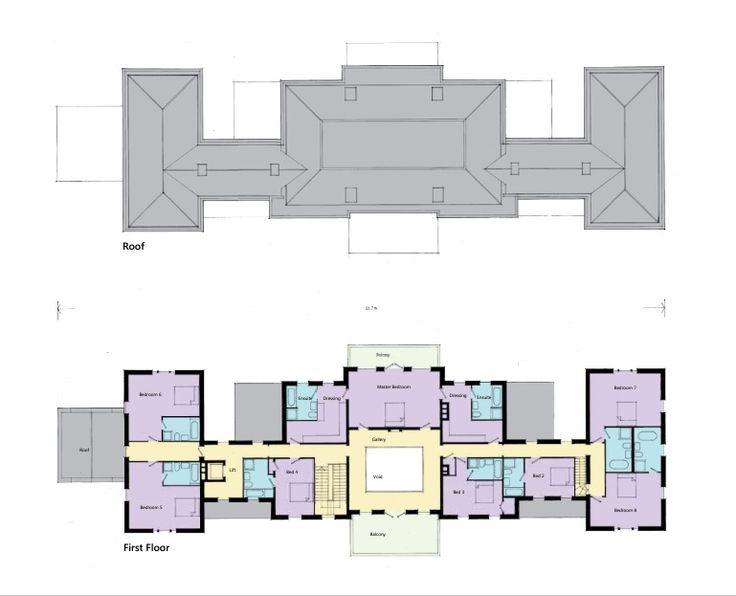 1st floor seymour place marlborough for Marlborough house floor plan