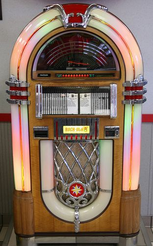 Music Jukebox of the 50's