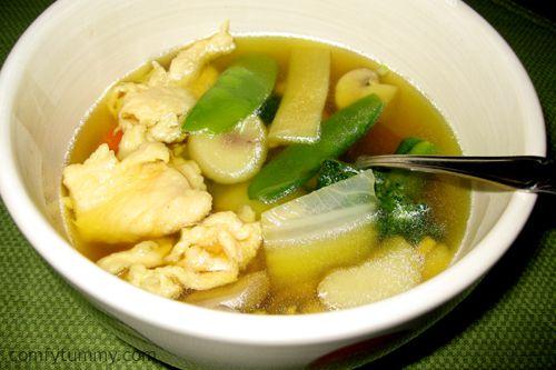 Chinese Chicken Yat Gaw Mein Soup