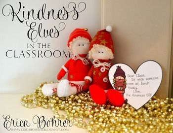 Are you looking for a way to teach kindness in your classroom?   These Kindness Elf notes are the perfect way for your students to perform random acts of kindness.  They are school related notes that can easily be done as a class.  Instead of that other naughty elf, you have a Kindness Elf come and visit your classroom.