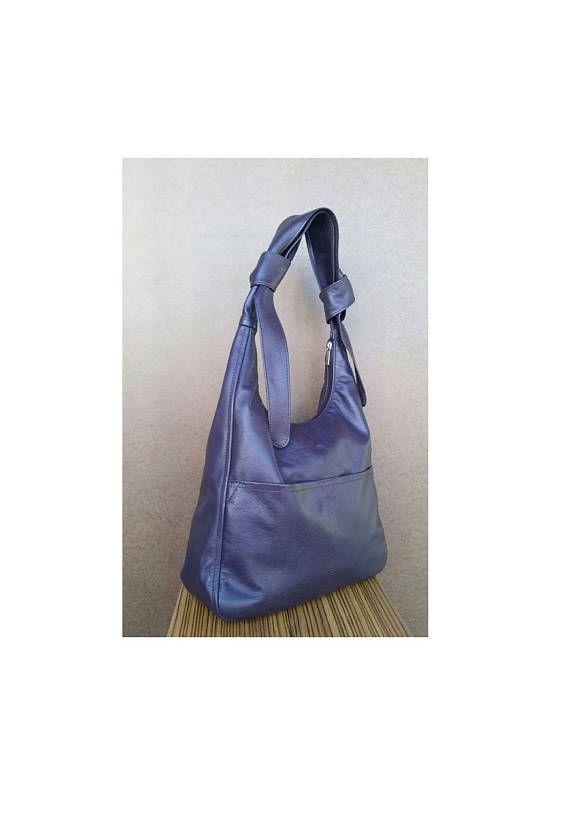 92515469f9 Purple Leather Crossbody Bag