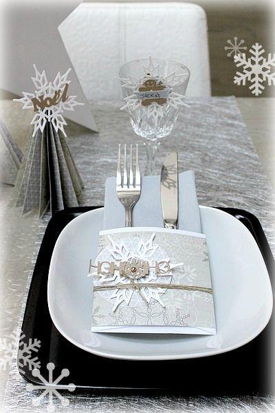 Nous y voilà ce soir c'est le réveillon de Noël !! Vous cherchez encore une idée originale pour décorer votre table et accueillir vos convives dans une ambiance festive? Voici quelques idées…
