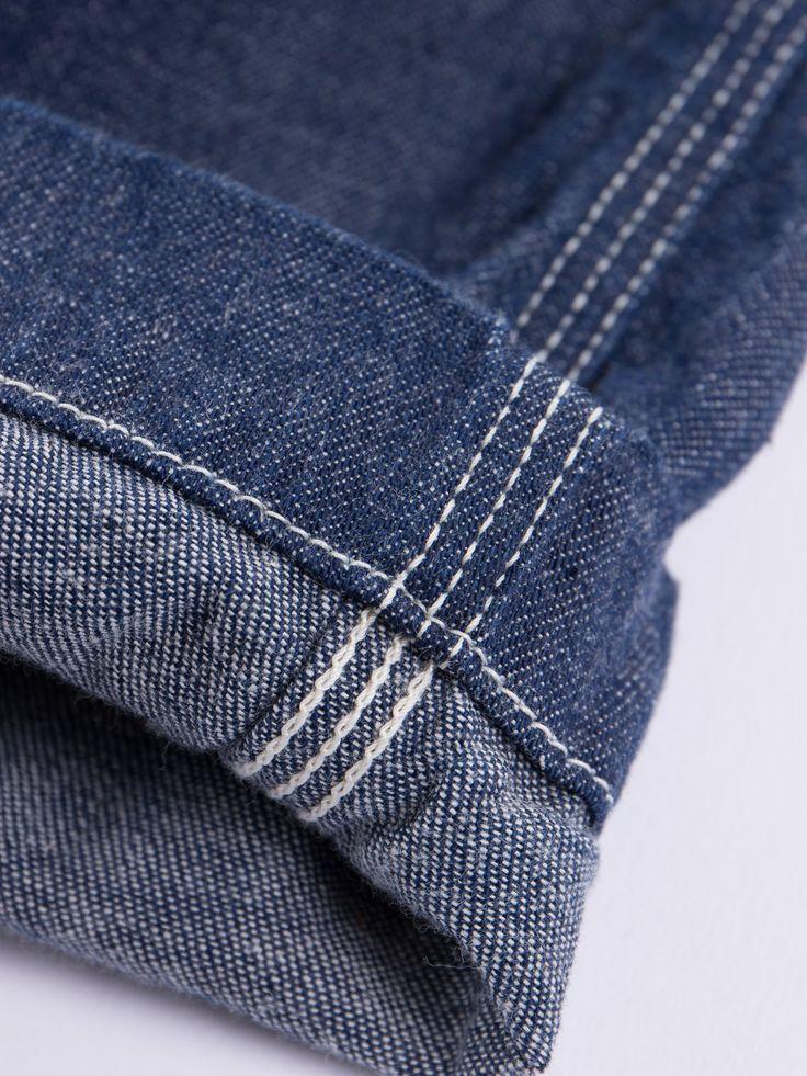Indigo One Wash Denim Climbing Pant - Image 5