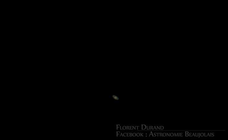 Saturne et ses anneaux.