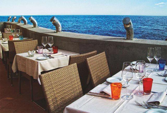 I migliori posti in Italia in cui mangiare all'aperto