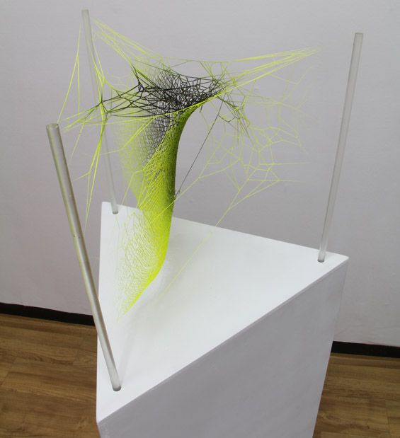 Spiderwebs Transformed into Colorful Works of Art - My Modern Met