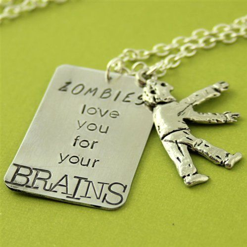 #Annie Nygard             #love                     #Zombies #Love #Layering #Necklace                  Zombies Love You - Layering Necklace                                          http://www.seapai.com/product.aspx?PID=1829073