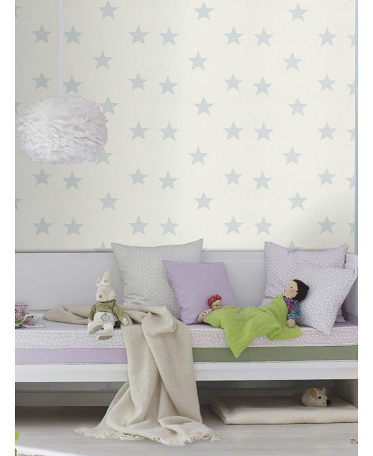 High quality wallpaper Stylish star themed pattern Ideal for feature walls and entire rooms