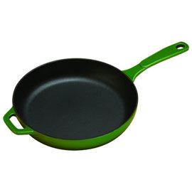 "Color Enamel Cast Iron Skillet, 11"" by Lodge Cast Iron  $59.95 #mightynest"