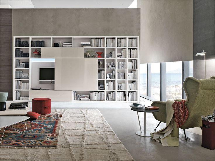 Parete attrezzata per #soggiorno moderno Atlante C309 | gruppotomasella.it