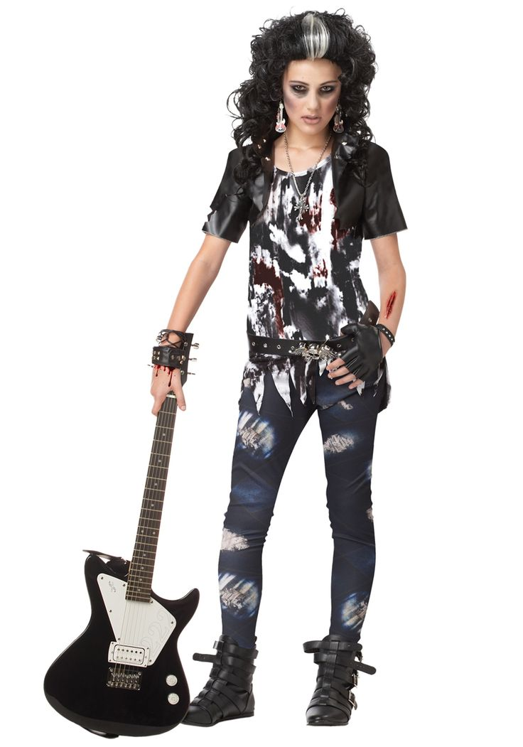 tween costumes for girls | Costume Ideas Classic Costumes Zombie Costumes Rocked Out Tween Girl ...