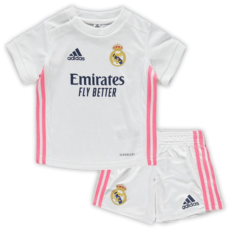 Real Madrid 20/21 Home Kids(Youth) Kit Name and Number in ...