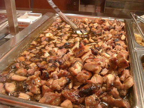 Bourbon Chicken recipe (food court version)