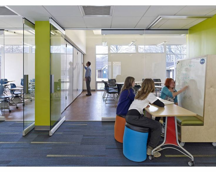 Collaborative Learning Classroom Environment ~ Best office design collaboration areas images on