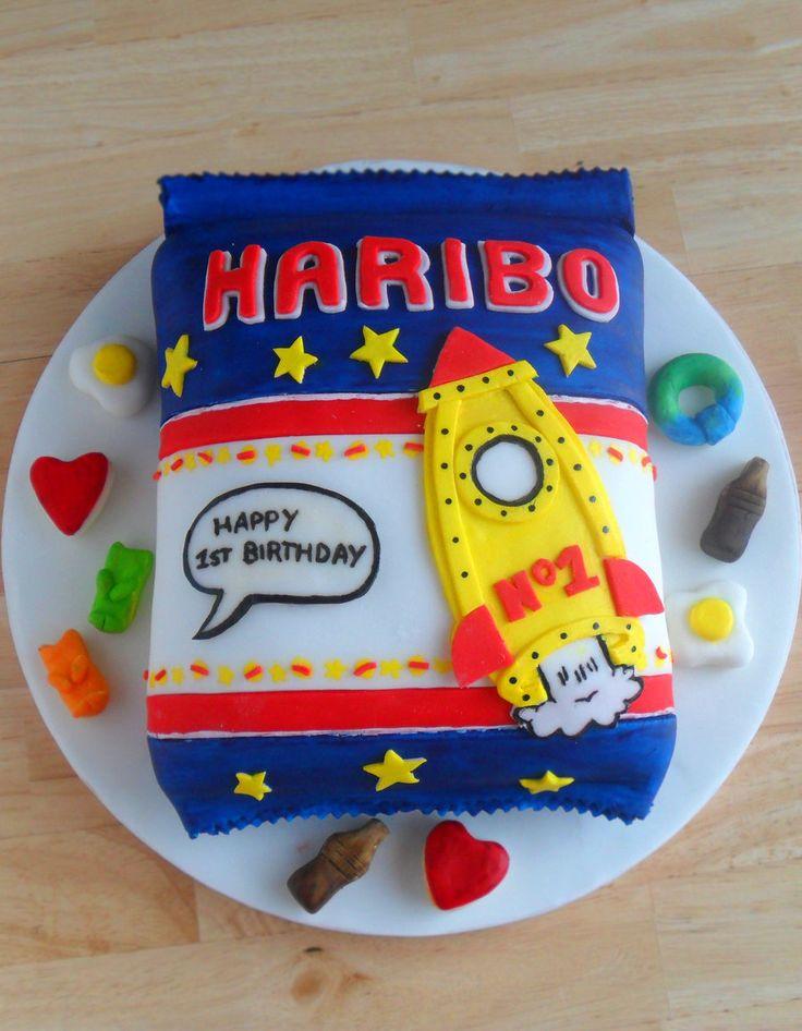 Haribo Cake. by RebeccaRoseBrine.deviantart.com on @deviantART