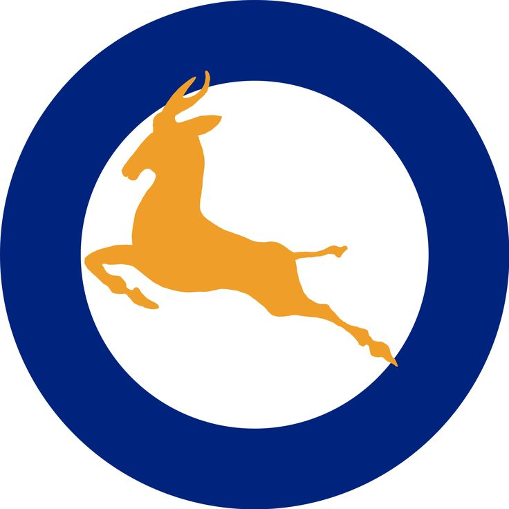 South African Air Force Roundel 1947-1958