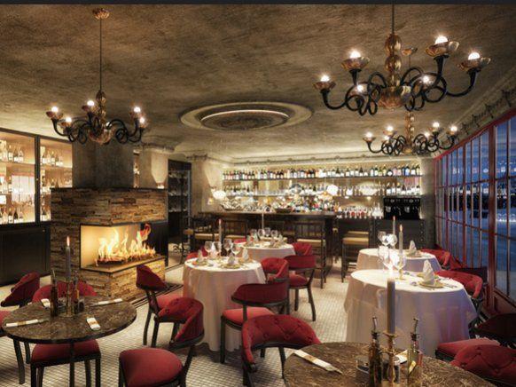 Im Hotelrestaurant kommt modern interpretierte Alpenküche aus regionalen Zutaten wie Schwarzwild, Bachsaibling und Waldpilzen auf die Teller.