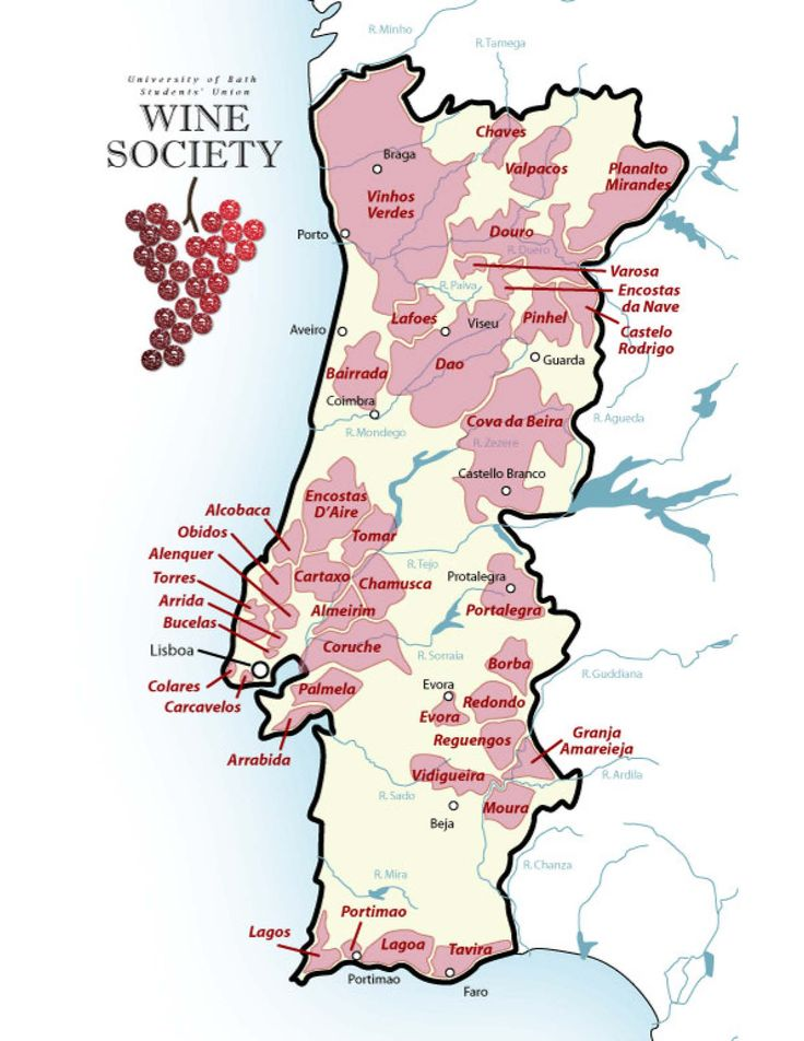 Portugal Wine Region Map.jpg (1700×2200)
