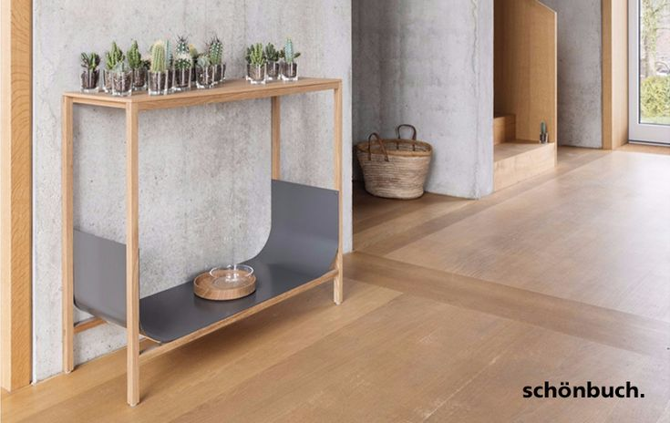 Console table and coat stand Tub by Schönbuch