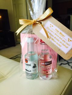 DIY baby shower game favors for men for a co-ed shower! cute gift idea under $5!