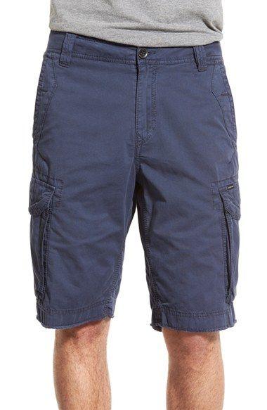 Union 'Pacific Coast' Raw Hem Cargo Shorts