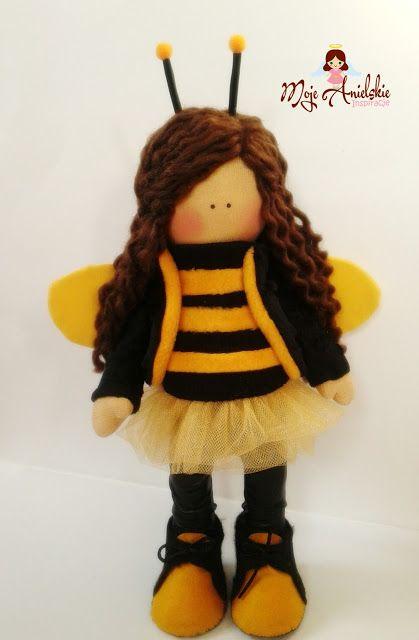 Moje anielskie inspiracje: Pszczółka.