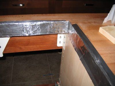 Countertop Next To Stove : ... tape next to stove or anywhere for hot surface to touch countertop