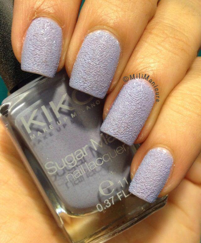 Kiko Sugar Mat 635 Wisteria #sand #lilac #matte #pastel
