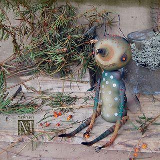 Комар ) Текстиль акрил, бисер.  Для Фантанимы. 🐛🐛🐛🐛🐛🐉 Mosqito for Fantanima.  #mandragora_root #creature #artdoll #handmade #fantanima2018 #fantanima #мандрагоринычудовища #мандрагоринотворчество #существа #моймир #комар #насекомое #фантанима