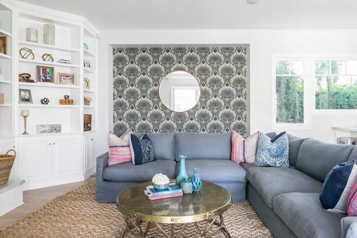 15+ Wallpaper living room accent wall ideas in 2021