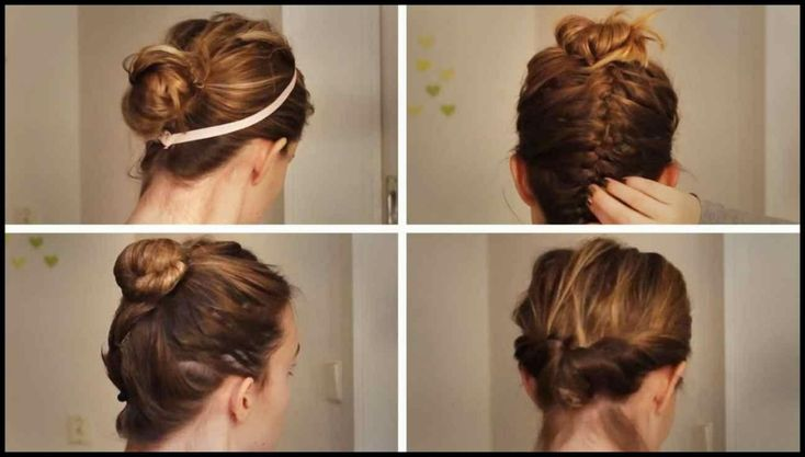 hair | Everyday Hairstyles – 4 Hairstyles for Work Uni School – Fast … | Hairstyles Tutorials