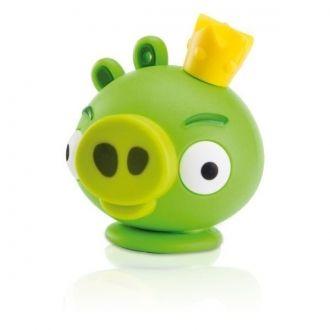 Emtec Pamięć USB A101 Pendrive 8GB King Pig  Pendrive marki Emtec o pojemności 8GB z licencjonowanej serii Angry Birds. Wykonany z miękkiego, przyjemnego w dotyku tworzywa. Model: Król Świnka.