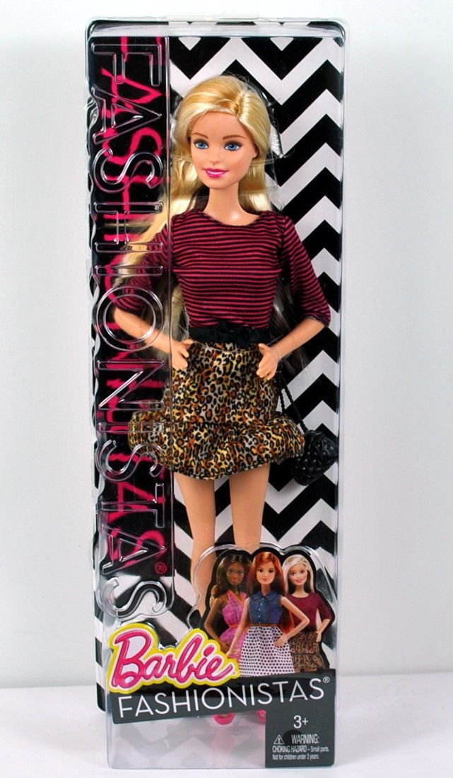 NEW Barbie doll WHITE long strapped round purse