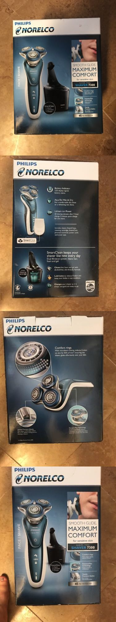 Shaving: Philips Norelco Series 7000 Shaver 7300 Maximum Comfort For Sensitive Skin S7370 -> BUY IT NOW ONLY: $99.99 on eBay!