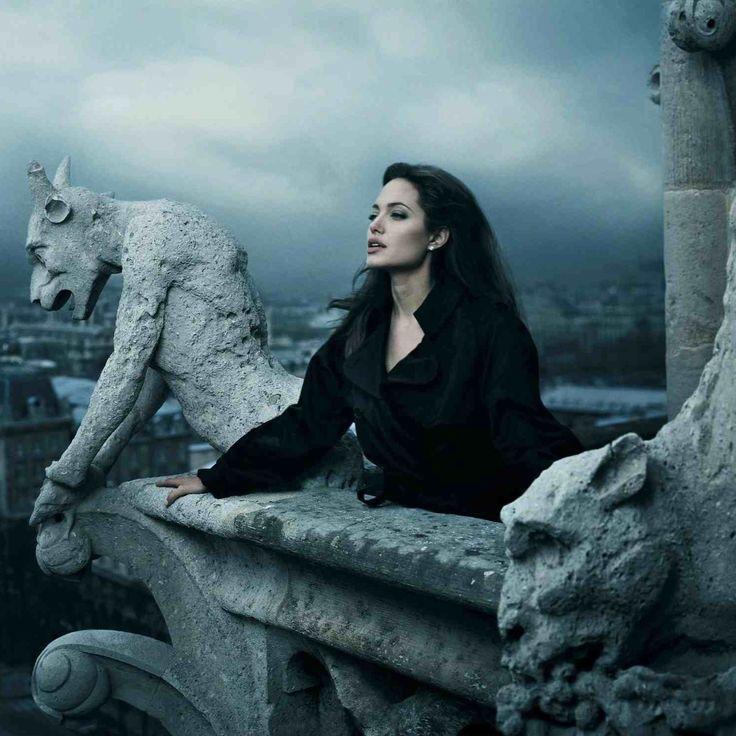 Gargoyles by Angelina Jolie & Annie Leibovitz this picture is Siiiiiick