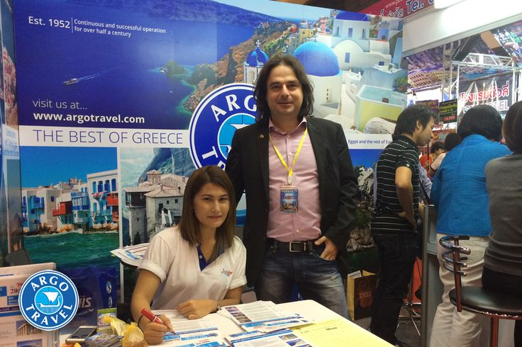 Argo Travel Group and the Greece - Thailand Center at the 15th Thai International Travel Fair http://goo.gl/ghMKun