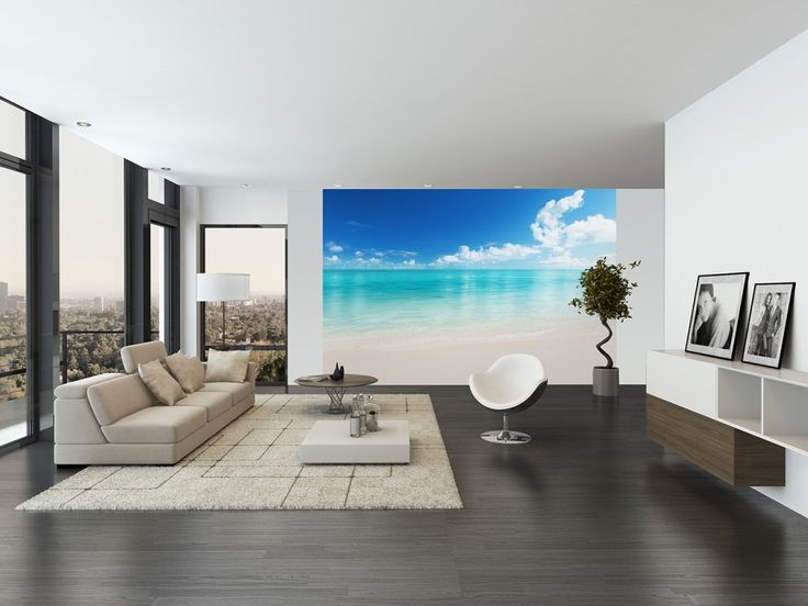 Wall Mural The Beach Wall Murals / Photomurals Wall Murals 8-part