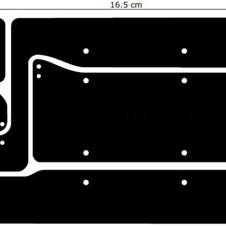Power Supply PCB Layout for 1000W Audio Amplifier