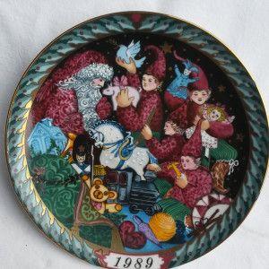 """Piatto collezione """"Santa Claus Collection"""" 1989"""