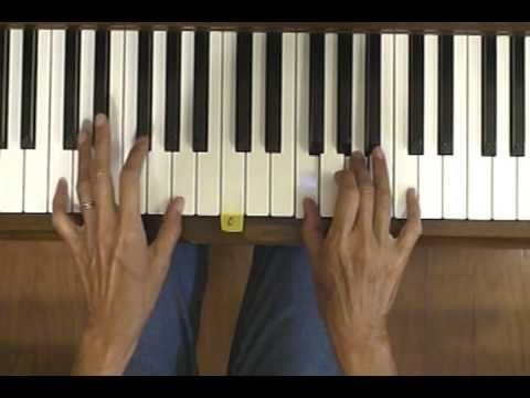 how to learn to play the scientist on piano