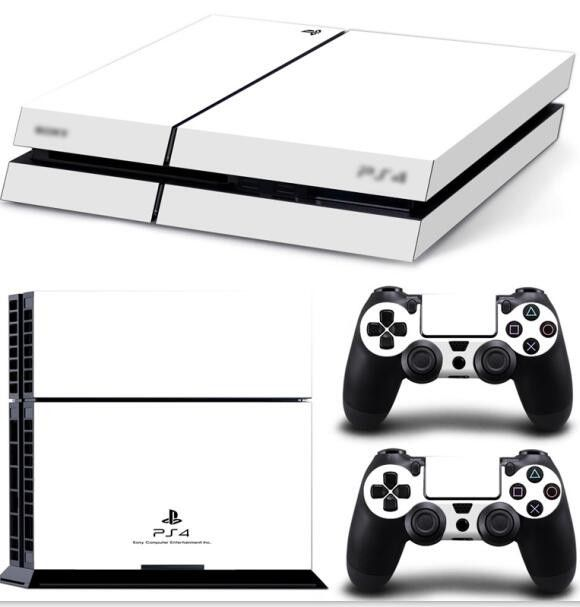 Customized Skin sticker decal skin stickers for Playstation 4 PS4 Console + 2 Pcs Stickers For PS4 video games play station 4
