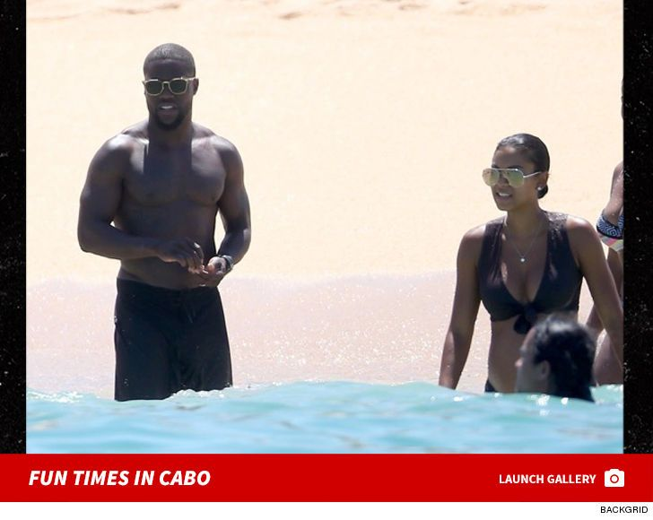 Kevin Hart and Pregnant Wife Take Pre-Baby Vacay