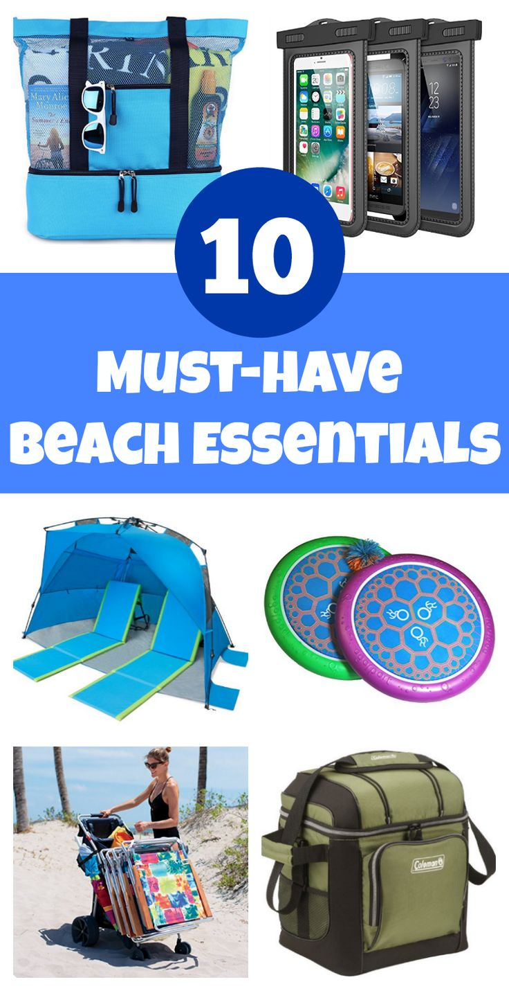 Beach Packing List: Here's what you really need to add to your beach trip packing list (so you don't forget).