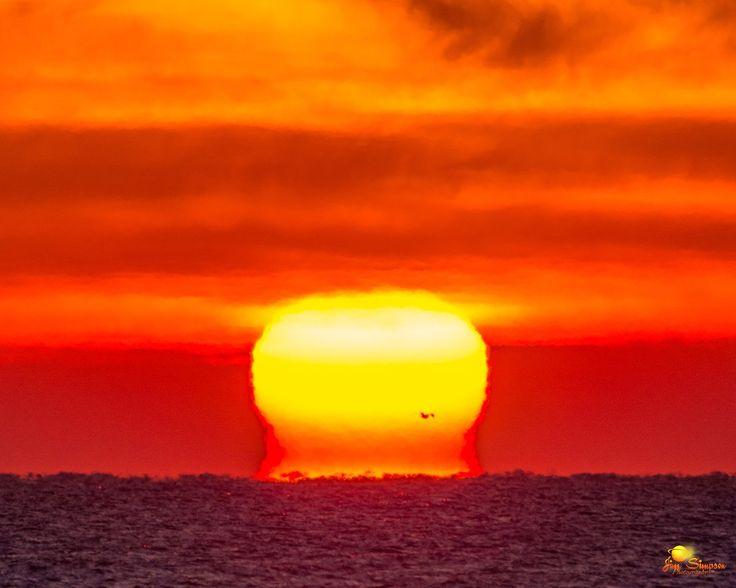 Winter Solstice Sunrise Fire Island NY, @kf2g